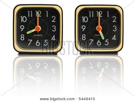 Small Clocks Showing 8 To 5