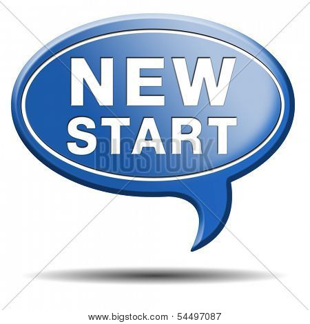 start new life road to fresh begin new start