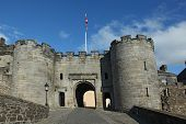 Stirling Castle In Stirling, Scotand.