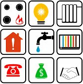 set icon for home appliance