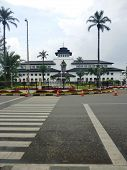 foto of sate  - gedung sate is the icon landmark buildings in bandung west java - JPG