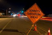 image of designated driver  - A DUI check point in Anaheim CA - JPG