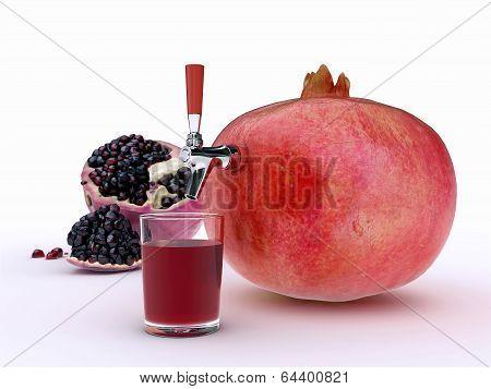 Granada juice
