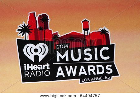 LOS ANGELES - MAY 1:  Atmposphere at the 1st iHeartRadio Music Awards Press Room at Shrine Auditorium on May 1, 2014 in Los Angeles, CA