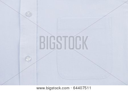 Blue Dress Shirt Pocket