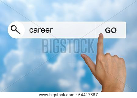 Career On Search Toolbar