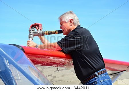 Fueling Airplane