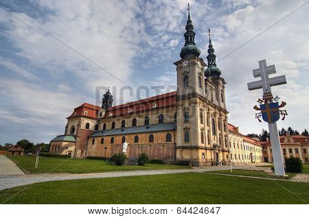 Velehrad - The Basilica Of Assumption Of Mary And St Cyrillus And Methodius