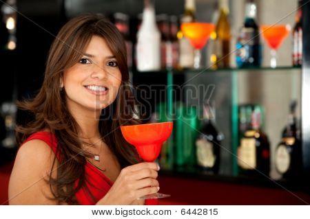 Mulher no Bar