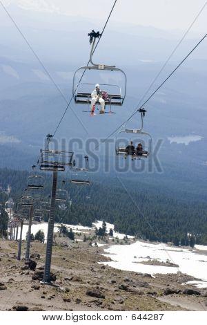 Summer Ski Lift Operation