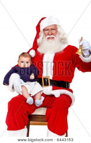 Santa With A Baby