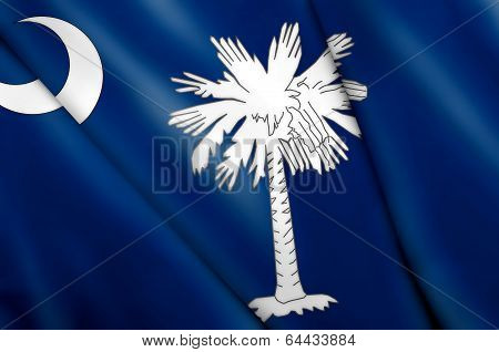 Flag Of South Carolina (usa)