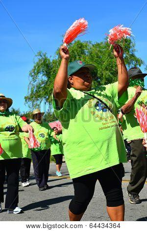 Seniors Marching