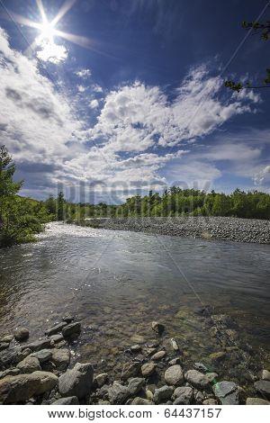 the river Piota, Piedmont, Italy