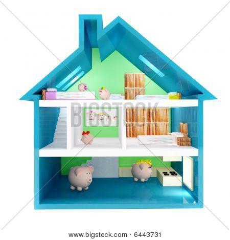 Piggybank House