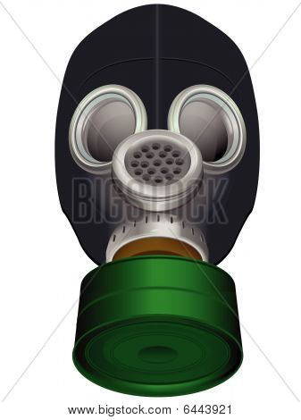 Gas mask of protection