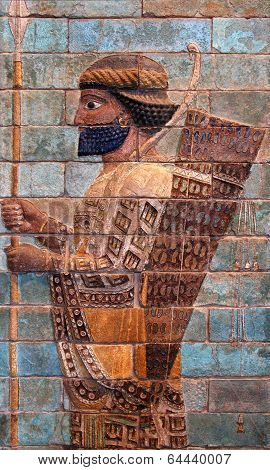 Persian Achaemenid Soldier