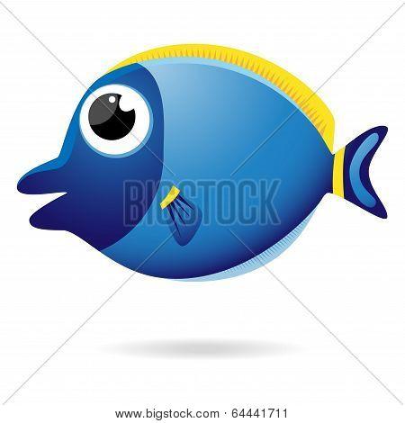 Cartoon Unicornfish