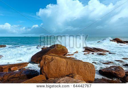 Ploumanach Coast View (brittany, France)