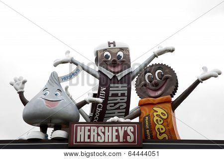 Hershey Mascots