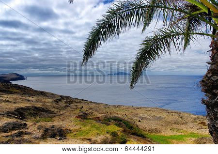 Landscape Of Sao Lourenco Peninsula On Madeira Island, Portugal