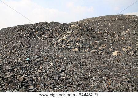 Mine heap