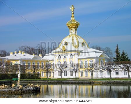 Big Palace, Peterhof, Russia
