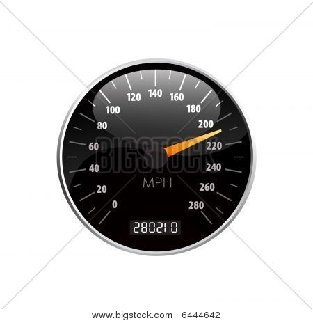 Speedometer vector beautiful illustration