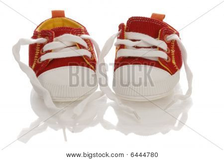 Red Baby Runners