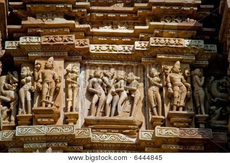 Erotic Indian Temple Carvings