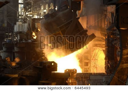 Steel-casting Department