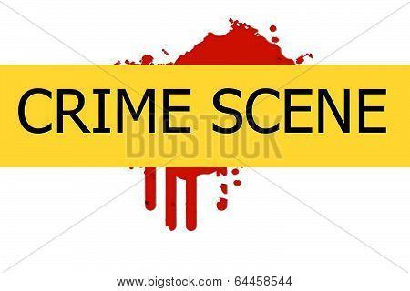 Crime Scene Sign