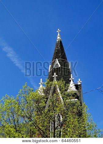 Swedish Gothic Style Church