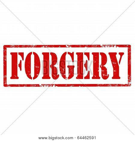 Forgery-stamp