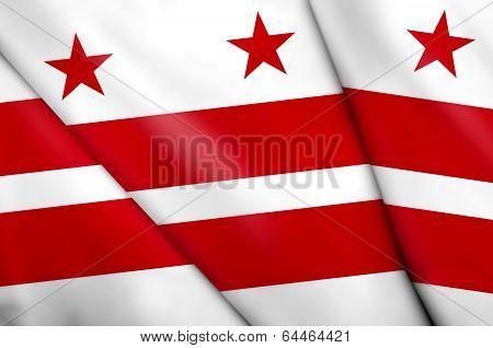 Flag Of Washington, D.c.