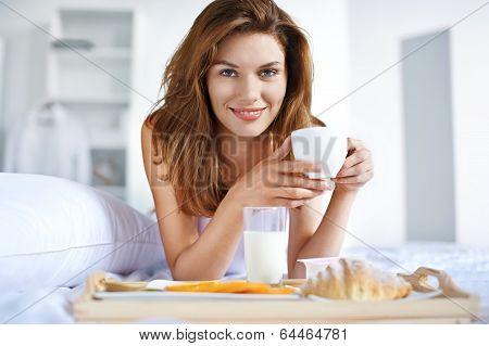 Dinner in bed
