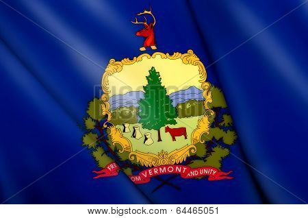 Flag Of Vermont (usa)