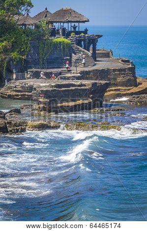 The Tanah Lot Temple.Bali Island. Indonesia.