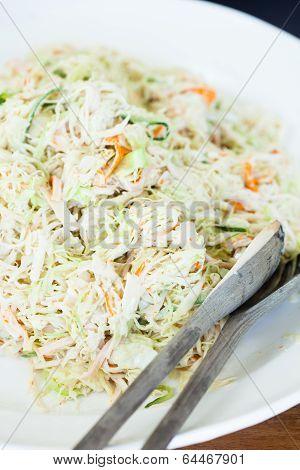 Fresh Coleslaw Salad