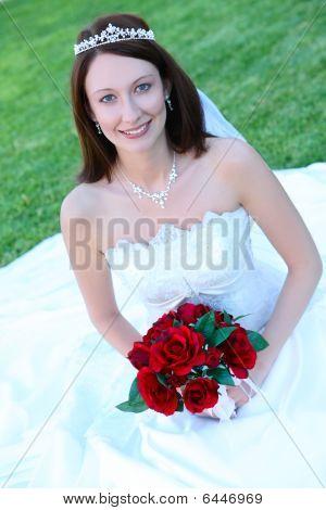 Beautiful Bride Woman At Wedding
