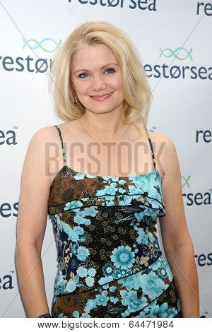 LOS ANGELES - MAY 3:  Jacee Jule at the RESTORSEA Gifting of Skin Care Product at NEMO on May 3, 2014 in West Hollywood, CA