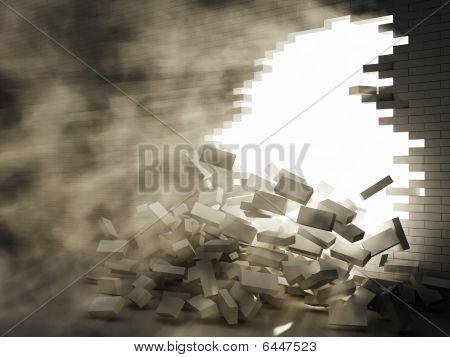 Break Of Wall