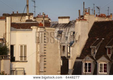 View Of Paris' Rooftops