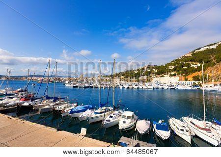 Javea Xabia marina Club Nautico in Alicante Mediterranean of spain
