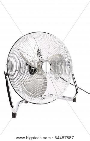 Electric fan in front.