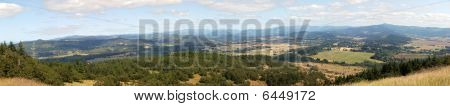 Panorama Landscape Of Oregon