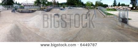 Outdoor Skatepark Panorama