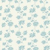 picture of decoupage  - Seamless vintage wallpaper pattern - JPG