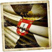 picture of ceuta  - This is an illustration of flag of Ceuta  - JPG