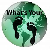 stock photo of carbon-footprint  - What - JPG